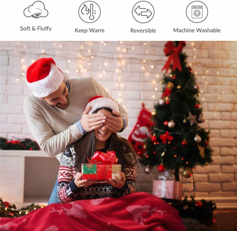 Sofadecke Weihnacht